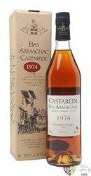 Castarede 1974 vintage Bas Armagnac 40% vol.  0.70 l