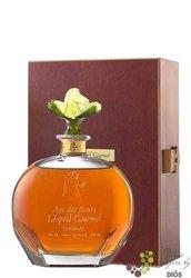 """Léopold Gourmel 1986 Carafe """" Age des Fleurs """" 15 Carats Cognac AOC 42% Vol.0.70 l"""