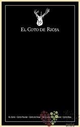 Chalk table by Bodegas El Coto de Rioja