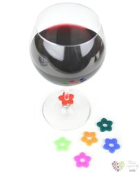 Ozdobné kroužky na sklenice 6ks