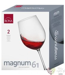 "Glass of wine "" Magnum Bordeaux "" 610 ml"