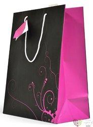 Dárková taška velká - černofialová