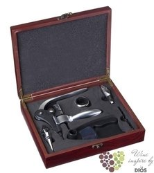 De Luxe opener in luxury wood gift box