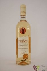 Ryzlink rýnský 2009 pozdní sběr vinařství Pavel Binder      0.75 l
