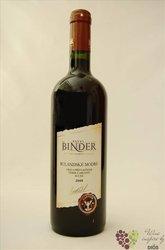 Rulandské modré 2008 výběr z hroznů vinařství Pavel Binder 0.75 l