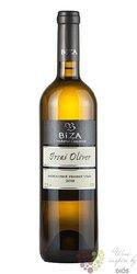 Irsai Oliver 2018 moravské zemské víno vinařství Bíza Čejkovice  0.75 l