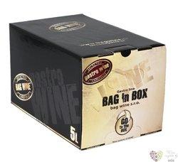 BIB Sauvignon blanc z vinařství Bagwine Velké Bílovice   5.00 l
