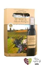 Cabernet Sauvignon Languedoc VdP d´Oc Jean d´Aosque  3.00 l