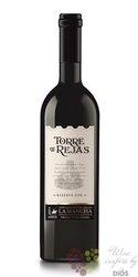 """La Mancha tinto reserva """" Torre de Rejas """" Doc 2010 bodegas Isigro Milagro  0.75 l"""