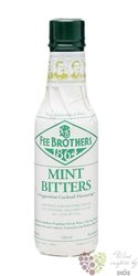 "Fee Brothers bitters "" Mint "" coctail flavoring 35.8.% vol.  0.150 l"