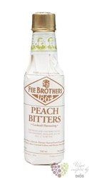 "Fee Brothers bitters "" Peach "" coctail flavouring 1.7% vol.  0.150 l"