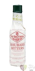 "Fee Brothers bitters "" Rhubarb "" coctail flavouring 4.5% vol.    0.150 l"
