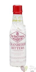 "Fee Brothers bitters "" Cranberry "" coctail flavoring 4.8% vol.  0.150 l"