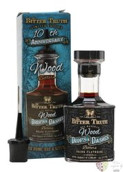 "Bitter Truth bitters Drop & dashes "" Wood "" coctail flavoring 42% vol.  0.10 l"