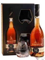 "Sarajishvili "" VS "" glass set Georgian brandy by David Sarajishvili 40% vol.  0.70 l"