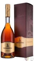 "Sarajishvili "" 3x "" Georgian brandy by David Sarajishvili 40% vol.  0.70 l"