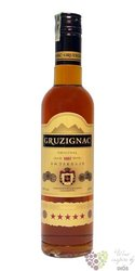 Gruzignac 5* original Georgian brandy 40% vol.  0.50 l