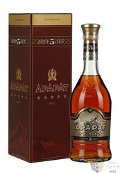 "Ararat "" Five stars "" aged 5 years Armenian brandy by Yerevan brandy company 40% vol.  0.70 l"