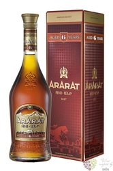 "Ararat "" Ani "" aged 6 years Armenian brandy by Yerevan brandy company 40% vol.0.70 l"