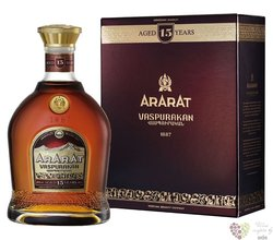 "Ararat "" Vaspurakan "" aged 15 years Armenian brandy by Yerevan brandy company 40% vol.  0.70 l"