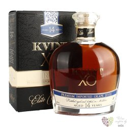 "Kvint "" XO "" aged 14 years Moldova brandy 40% vol. 0.50 l"