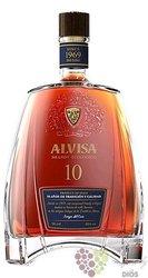 Alvisa aged 10 years organic Spanish brandy 40% vol.  0.50 l