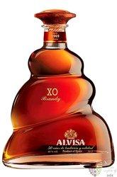 "Alvisa "" XO "" 50 anni bottling Spanish brandy 40% vol.  0.50 l"