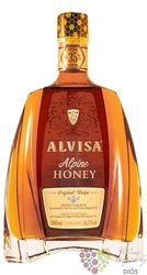 "Alvisa "" Alpine Honey "" flavored Spanish brandy 35% vol.  0.50 l"
