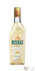 Janeiro cachaca original Brasilian cane brandy 40% vol.   0.70 l