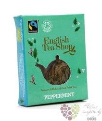 Čistě mátový individual pyramid of herbal tea by English Tea Shop 1ks