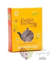 Černý Chai individual pyramid of black tea by English Tea Shop 1 ks