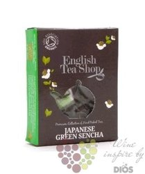 Zelený čaj japonská Sencha individual pyramid of green tea by English Tea Shop 1 ks