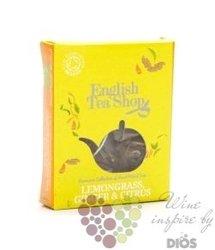 Citronová tráva, zázvor a citrus individual pyramid of flavoured tea by EnglishTea Shop 1 ks