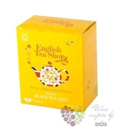Černý Chai individual sachet of black tea by English Tea Shop 8 ks