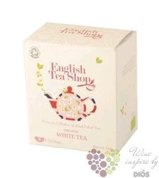 Bílý čaj individual sachet of white tea by English Tea Shop 8 ks
