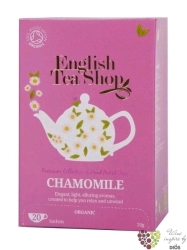 Heřmánek individual sachet of herbal tea by English Tea Shop 20 ks