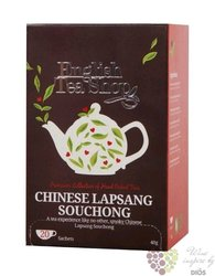 "Černý čaj "" Lapsang Souchong "" individual sachet of flavoured tea by English Tea Shop 20 ks"