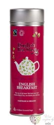 English Breakfast individual pyramid of black tea in metal box by English Tea Shop 15 ks