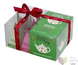 Zelený čaj - 4 příchutě individual pyramid of green tea in gift box by English Tea Shop 12 ks