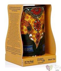 "Černý čaj "" Dárkový slon "" individual sachet of green tea in gift box by English Tea Shop 60 ks"