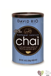 "Chai "" Elephant Vanilla "" American tea latte by David Rio  398 g"
