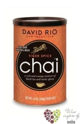 "Chai "" Tiger Spicy "" American tea latte by David Rio  398 g"