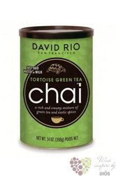"Chai "" Tortoise Gren Tea "" American tea latte by David Rio  398 g"