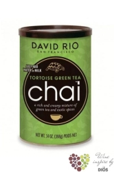 "Chai "" Tortoise Gren Tea "" American tea latte by David Rio  1816 g"
