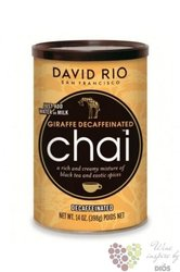 "Chai "" Giraffe Decafeinated ""  American tea latte by David Rio  398 g"
