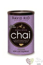 "Chai "" Orca Spice "" American sugarfree tea latte by David Rio  337 g"