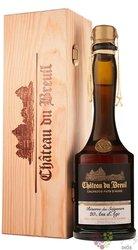"""Chateau du Breuil """" Réserve des Seigneurs XO """" wood box Calvados 41% vol. 0.70 l"""