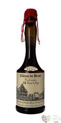 """Chateau du Breuil """" 12 ans d´Age """" Calvados Pays d´Auge 41% vol.   0.03 l"""