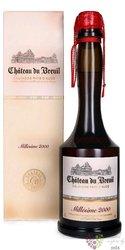 """Chateau du Breuil """" 15 ans d´Age """" aged 15 years Calvados Pays d´Auge 41% vol.0.03 l"""