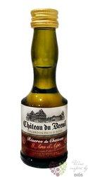 """Chateau du Breuil """" Reserve du Chateau """" aged 8 years Calvados Pays d´Auge 40% vol.  0.03 l"""